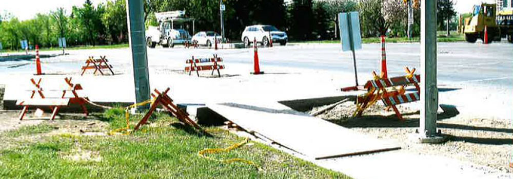 Slabmaster cement concrete sidewalk repair